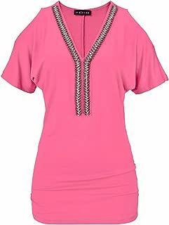 Melrose Damen Neckholder-Top pink