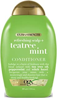 Ogx Conditioner Tea Tree Mint Extra-Strength 13 Ounce (385ml) (2 Pack)