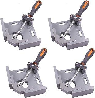 エスネット コーナークランプ 90度 直角 定規 木工 溶接 固定 工具 DIY 1個 2個 4個 セット SN-176-N3 (4個セット) 作業 ツール ワーク