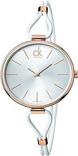 Calvin Klein Womens Analogue Quartz Watch with Stainless Steel Strap K3V236L6