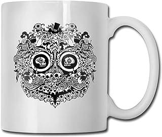 La tasse d'idées de tasse à café en céramique de crâne meilleure tasse de cadeau de famille et d'anniversaire