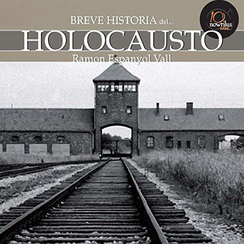 Breve historia del Holocausto audiobook cover art