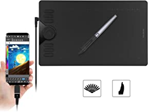 Huion HS610 13x8 Inch Graphics Drawing Tablet with 28 Express Keys, 8192 Battery-Free Stylus, Compatible with Mac, PC or Android Mobile