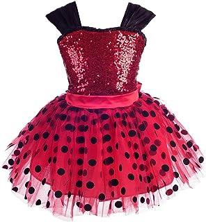 Dressy Daisy Girls Ladybug Dress Up Costume Tutu Fancy Party Dresses Polka Dot