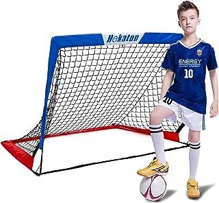 Hekaton Portable Soccer Goal, Pop-up Soccer Nets for...