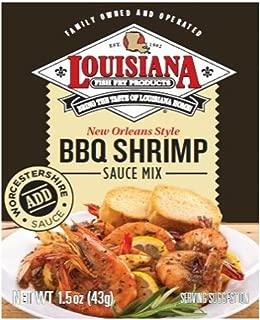 Louisiana Fish Fry BBQ Shrimp Sauce Mix, 1.5-Ounce (Pack of 12)