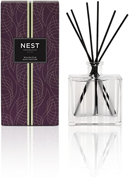 NEST Fragrances Reed Diffuser Wasabi Pear 5 9 Fl Oz
