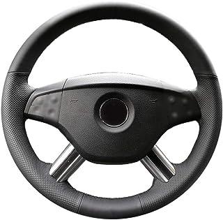 CYBHR handmade Automotive interior Car Steering Wheel Cover,for Mercedes Benz ML350 ML500 2005 2006 M-Class GL-Class GL450...