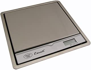 Escali In Surface Mount Commercial Kitchen Scale, 11lb Cappacity 1 Gram Increments, Digital LCD Display