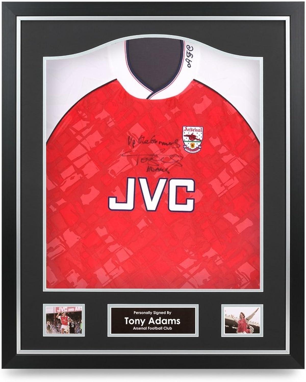 buy online 2c5c7 4e496 Tony Adams Signed Shirt Arsenal Framed Autograph Autograph ...