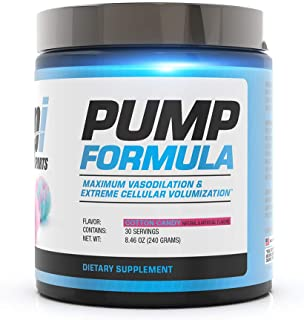 BPI Sports Pump Formula - Mike O'Hearn Titan Series - Caffeine Free Pre-Workout Powder - DIM, L-Citrulline, Citrulline Mal...
