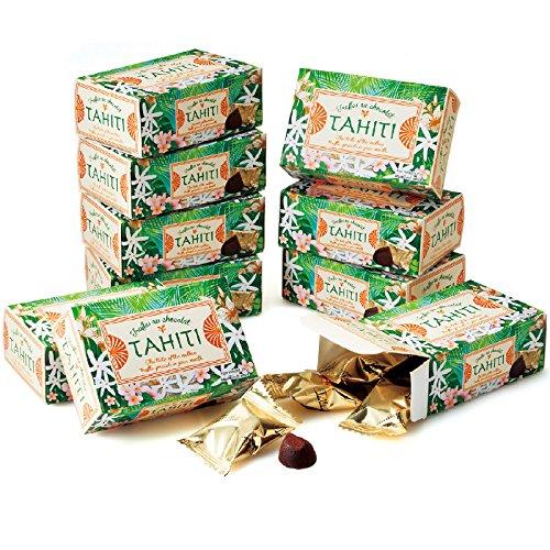 タヒチ 土産 タヒチ ミニチョコトリュフ 10箱セット (海外旅行 タヒチ お土産)