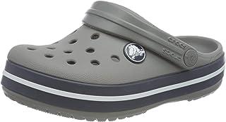 crocs Unisex Baby Smoke/Navy Sandals - C4 (204537-05H)-J4
