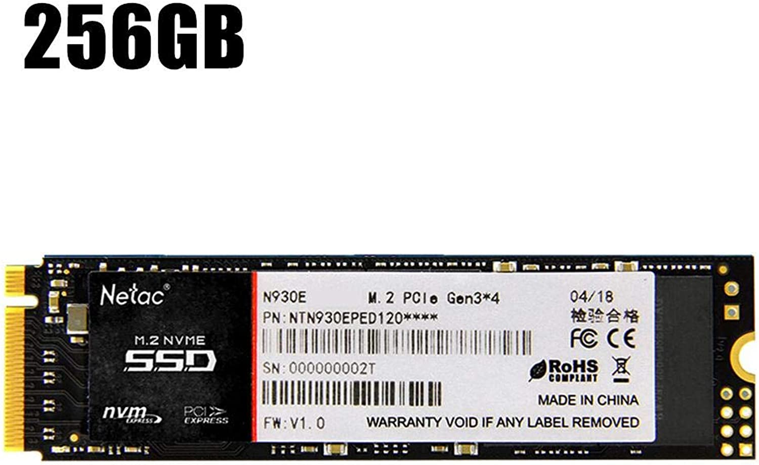 Headytidy Computer Hard Disk Drive PRO 128G 256G 512G M.2 NVMe Solid State Drive PCIe Gne3.0x4 2280MM SSD NVMe M.2 PCIe 3.0 x4 NVMe Solid State Drive