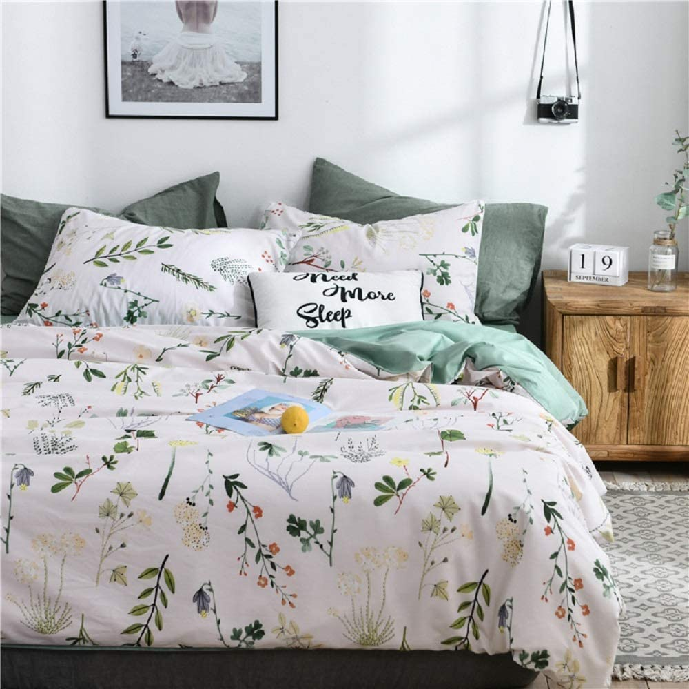 New item Floral Duvet Cover 100% Natural Eastern Milwaukee Mall Cotton Asian Flo