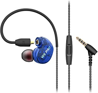 Xflelectronic in - Ear Earphones for Running Travel Deep Bass Noise Isolating with Detachable Cables with Microphone 3.5mm... photo