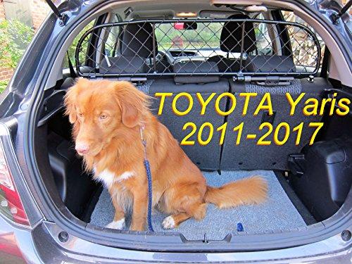 ERGOTECH Trennnetz Trenngitter Hundenetz Hundegitter RDA65-XS für Toyota Yaris ab BJ 2011