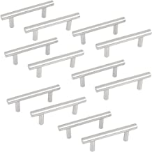 64 mm, 12 unidades Sourcingmap/® Tiradores de barra en T para armarios de cocina