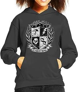 Cloud City 7 The Umbrella Academy Crest Kid's Hooded Sweatshirt