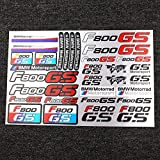 JIEWEI Nuevo cuaderno de la maleta de neumáticos impermeables de la llanta reflectante para B.m.W F800GS Adventure...