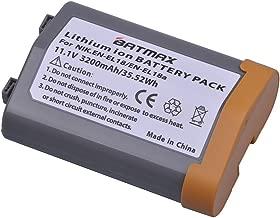 Batmax 1Pack 3200mAh EN-EL18 Battery for Nikon EN-EL18 EN-EL18A Battery and Nikon D4,D4S,D5 Cameras;D500 D800 D800E D810 D850 Battery Grip