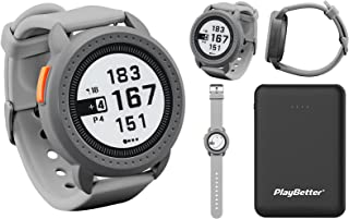 $159 » Bushnell ION Edge (Gray) GPS Golf Watch Power Bundle   with PlayBetter Portable Charger   Touchscreen, Auto-Course Recogni...