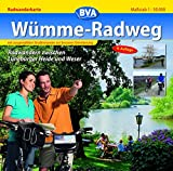 Wümme -Radweg 1 : 50 000. Radwanderkarte