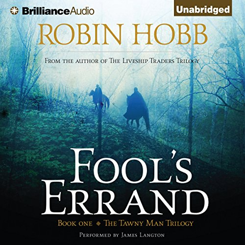 Fool's Errand audiobook cover art