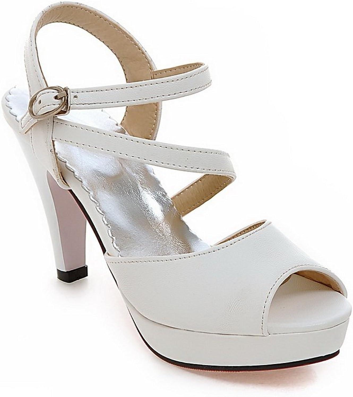 AdeeSu Womens Non-Marking Cold Lining Dress Urethane Sandals SLC03820