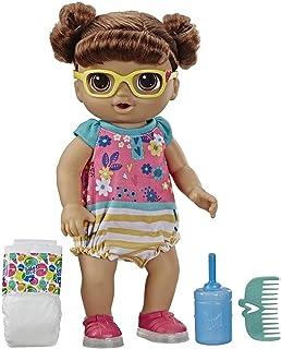 Hasbro - Baby Alive Flashin' Feet Baby, Brunette