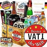 Bester Vati + Geschenk zum Geburtstag + DDR Paket Männer