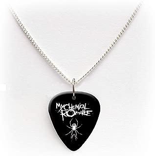 My Chemical Romance Guitar pick plectrum logo Necklace 24
