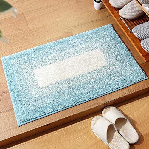 badkamermatten en -matten badmatten antislip Waterabsorberende antislip deurmat voor badkamer WC-Mintgroen_40cmx60cm
