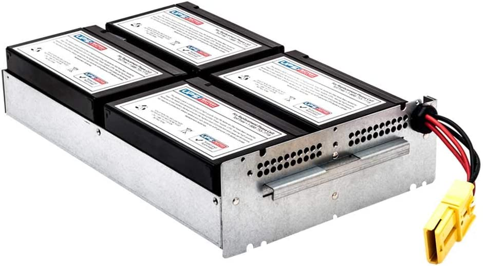 APC Smart-UPS 1500 RM 2U SUA1500R2X122 Compatible Replacement Battery Pack by UPSBatteryCenter
