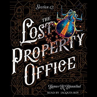 The Lost Property Office audiobook cover art