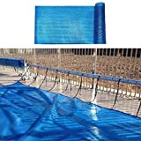 Tarpaulin Solar Pool Cover, Heaters for Inground Pools Heater Blankets, UV Protection Pool- Dust Cove Easy Set...