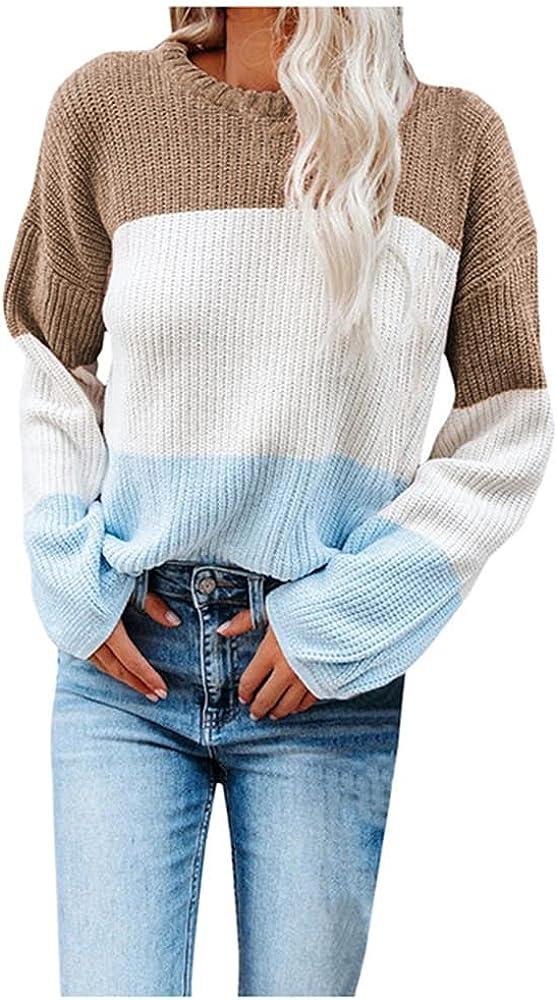NP Knitted Sweaters Women Long Sleeve Yk Loose Sweater