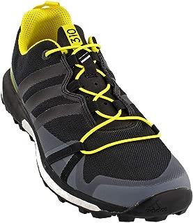 Terrex Agravic Shoe - Men's Dark Grey/Black/Bright Yellow, 10.0