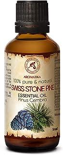 Aceite Esencial de Pino Suizo 50ml - Pinus Cembra - Suiza - 100% Natural & Puro Aceite de Pino Suizo - Mejor para la Belle...