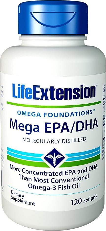 影響上下する事務所MEGA EPA DHA 120 SOFTGELS 海外直送品