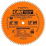 CMT 219.080.10 Industrial Sliding Compound Miter & Radial Saw Blade, 10-Inch x 80 Teeth 4/30°...