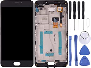 SHIHUI Replacement Parts For Meizu M3 Note/Meilan Note 3 (China Version) LCD Screen and Digitizer Full Assembly with Frame(Black)(White) (Color : Black)