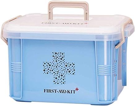 Tellaboull for Pratica Progettazione Home Use Medicine Box Cassetta di Pronto Soccorso Scatola di plastica Contenitore di Emergenza Organizzatore di archiviazione Portatile - Trova i prezzi più bassi