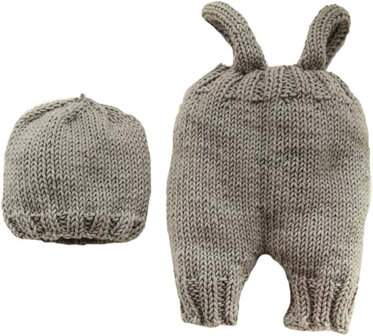 Derclive Combinaison en tricot pour b/éb/é nouveau-n/é