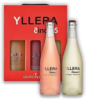 Vino Verdejo Yllera 5.5 Frizzante Pack de 3 Botellas 75 cl (2 x Blanco y 1 x Rosado)
