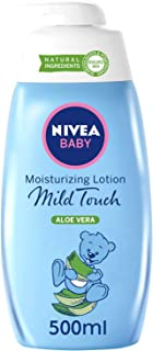 NIVEA Baby Mild Touch Moisturizing Lotion, Aloe Vera, 500ml