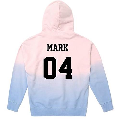 JUNG KOOK GOT7 Concert Pullover Hoodie Mark Jackson BamBam Gradient Sweater