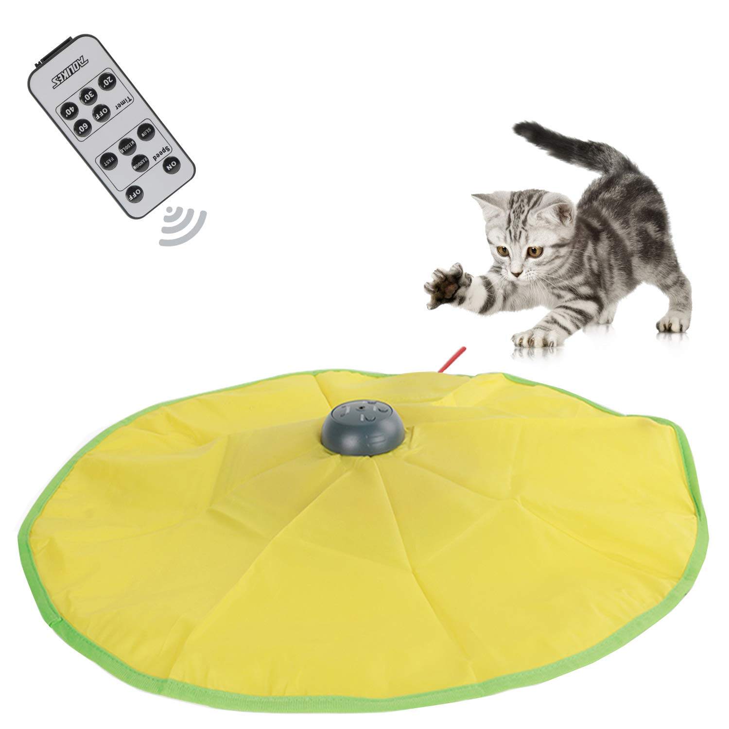 ACCTN Interactive Cat Toys, 5th Generation Durable Smart Pet Cat Toy with Wireless Remote Version V5 (V4 Version Cat Toys)