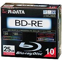 ライテック製 RiDATA 録画用BD-RE 10枚パック スリムケース入り BD-RE130PW 2X.10P SC C