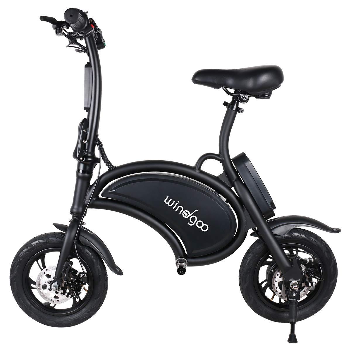 Windgoo Scooter eléctrico de 12 Pulgadas y 36 V de Bicicleta ...